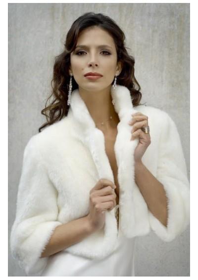 Купить Меховую Накидку На Свадебное Платье 77